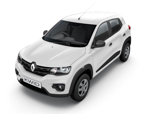 Rent a Renault Kwid Self Drive Car in Goa